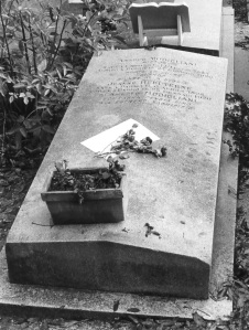The Tomb of Amadeo Modigliani